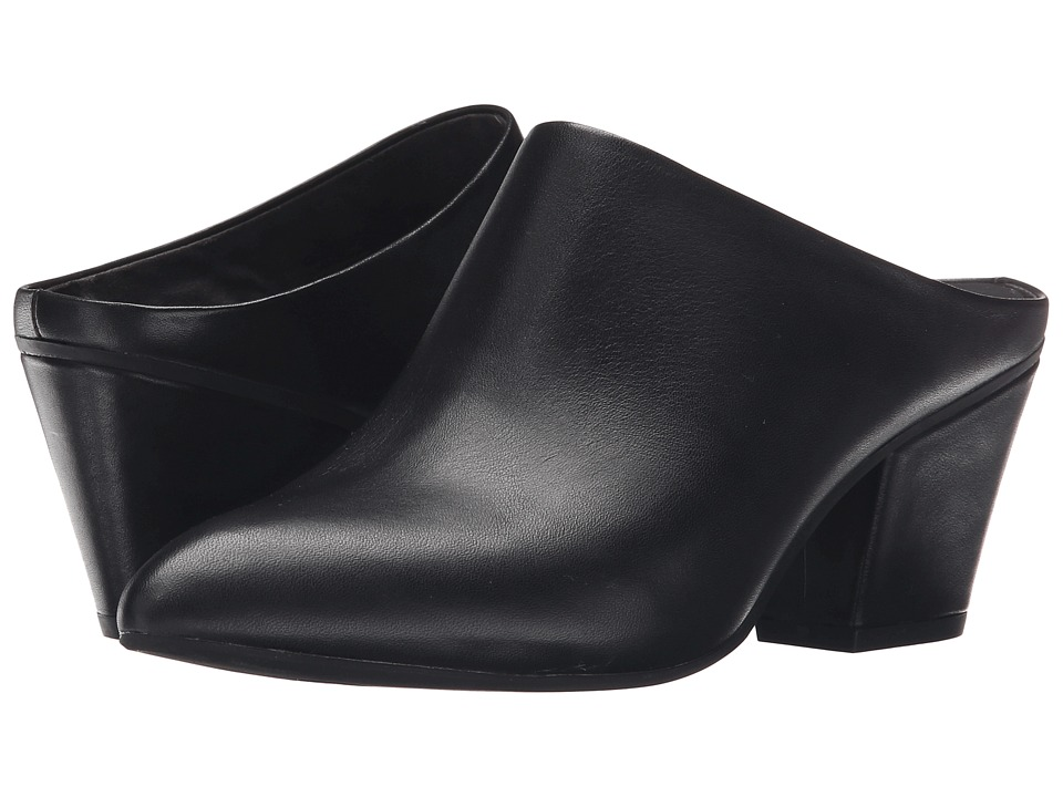 Seychelles - Got the Answer (Black Leather) Women's Clog Shoes