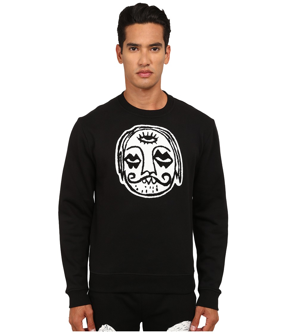 Haculla - 3rd Eye Crew Neck Sweatshirt (Black) Men