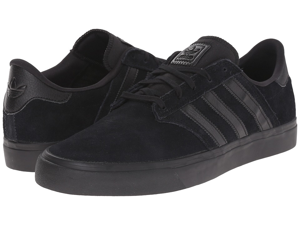 adidas Skateboarding - Seeley Premiere (Core Black/Core Black/Core Black) Men's Skate Shoes