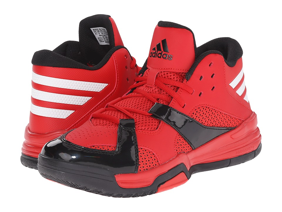 adidas - First Step (Scarlet/White/Black) Men's Basketball Shoes
