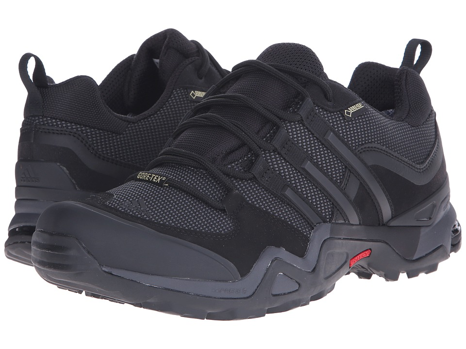 adidas Outdoor - Fast X GTX (Black/Dark Grey/Power Red) Men's Shoes