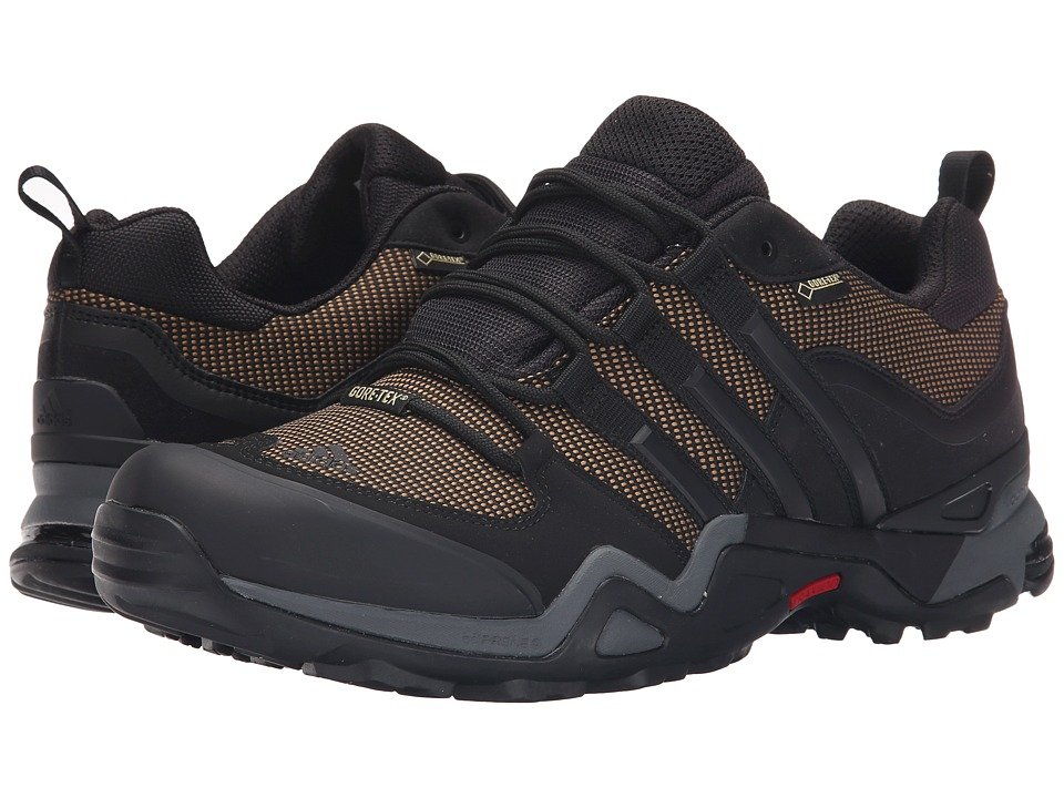 adidas Outdoor - Fast X GTX (Earth/Black/Vista Grey) Men's Shoes