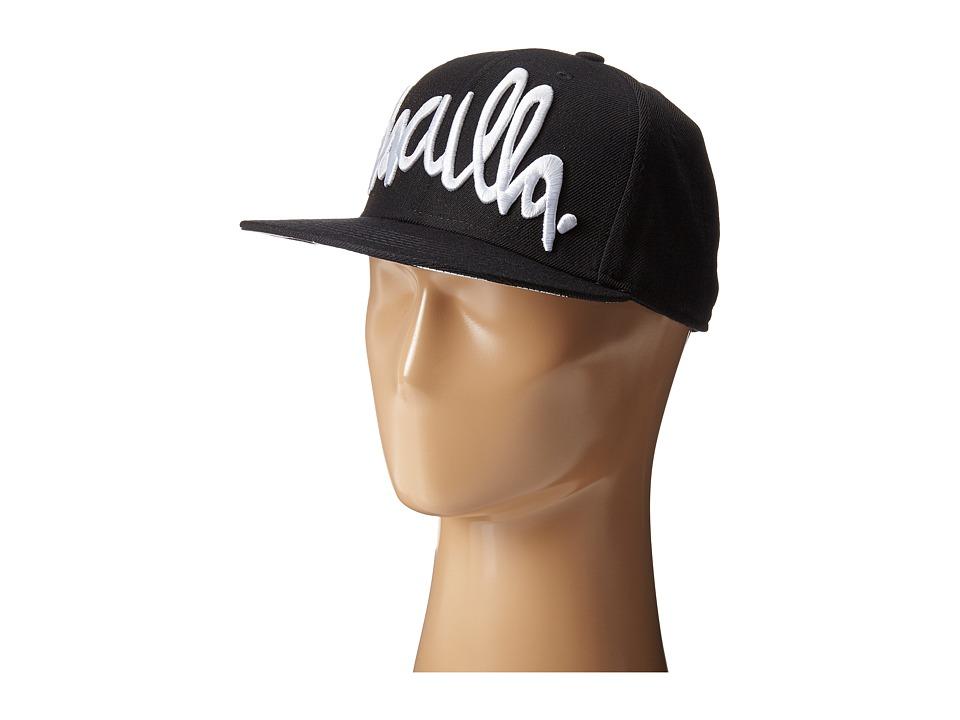 Haculla - Hac Snapback Hat (Black) Caps