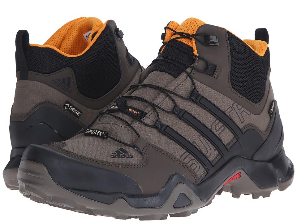 adidas Outdoor - Terrex Swift R Mid GTX (Branch/Black/Umber) Men's Shoes