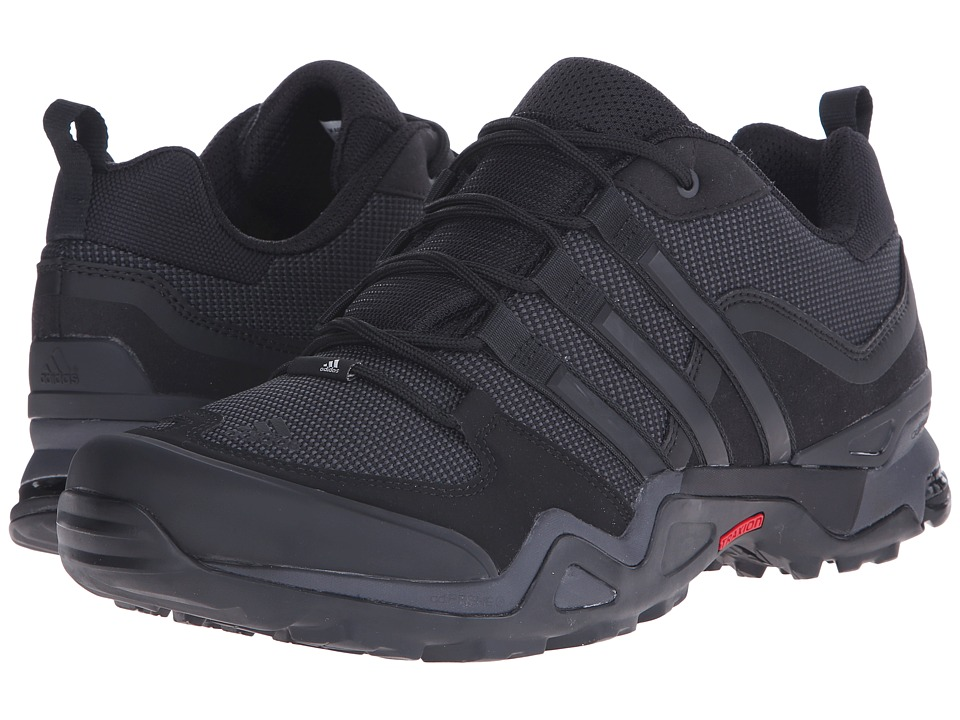 adidas Outdoor - Fast X (Black/Dark Grey/Power Red) Men's Shoes
