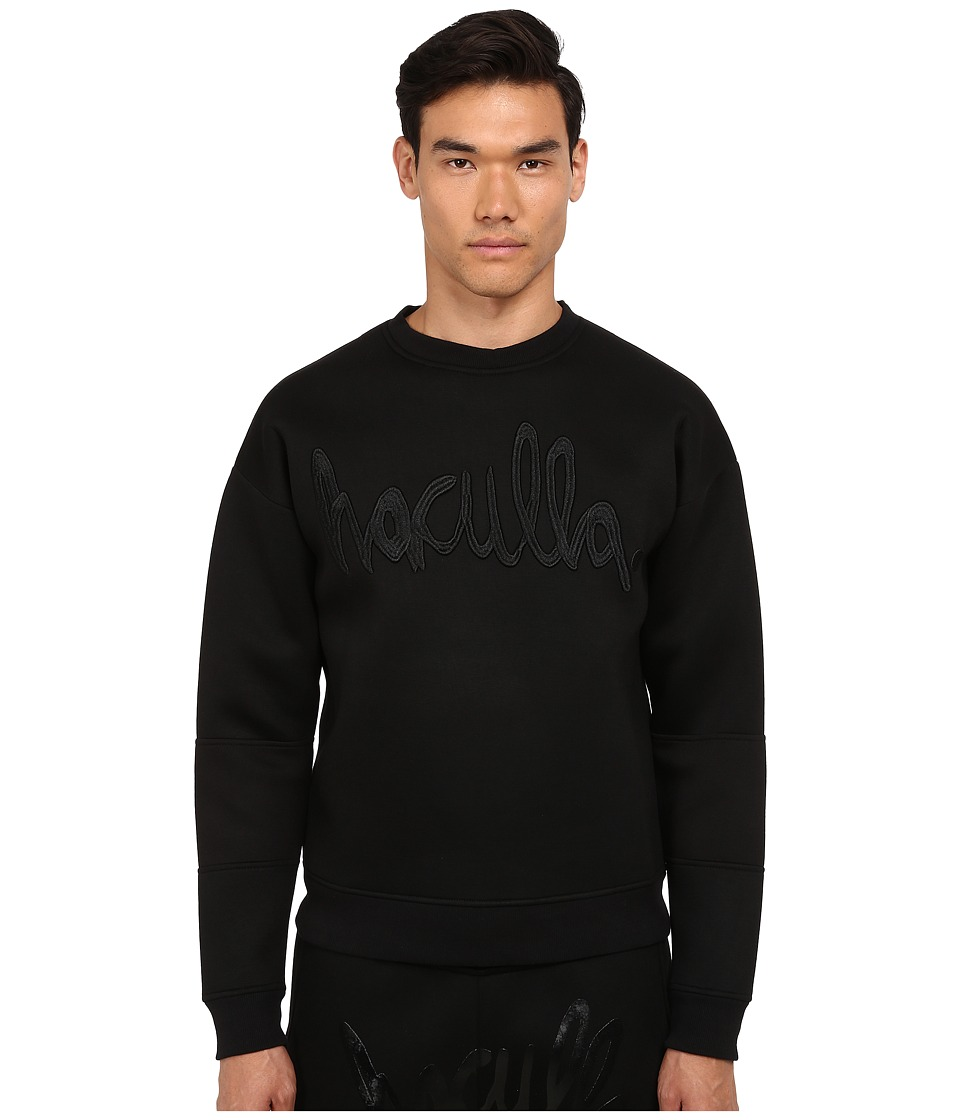 Haculla - NYC Crew Sweatshirt (Black) Men's Sweatshirt
