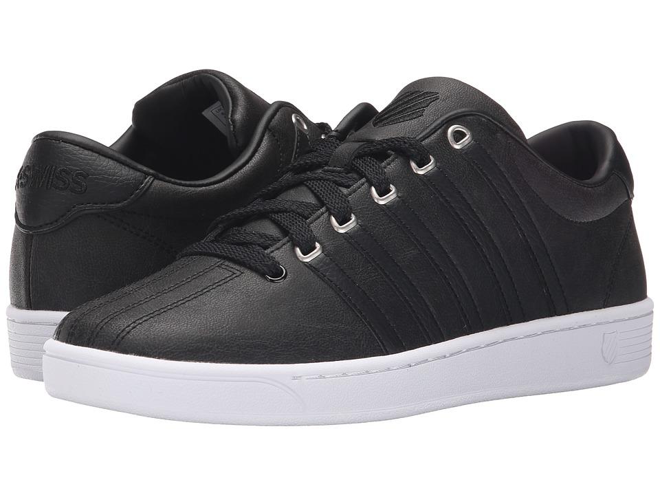 K-Swiss - Court Pro II C CMF (Black/White Leather) Men