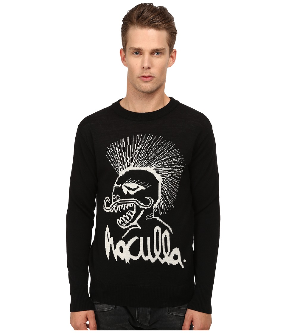 Haculla - Les Reversible Sweater (Black) Men's Sweater plus size,  plus size fashion plus size appare