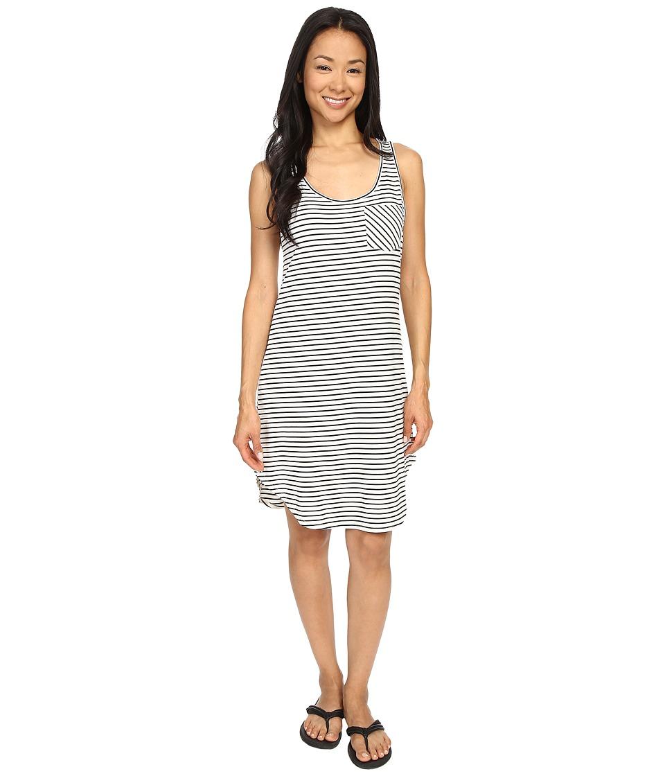 KAVU Leonora Dress (BW Stripe) Women