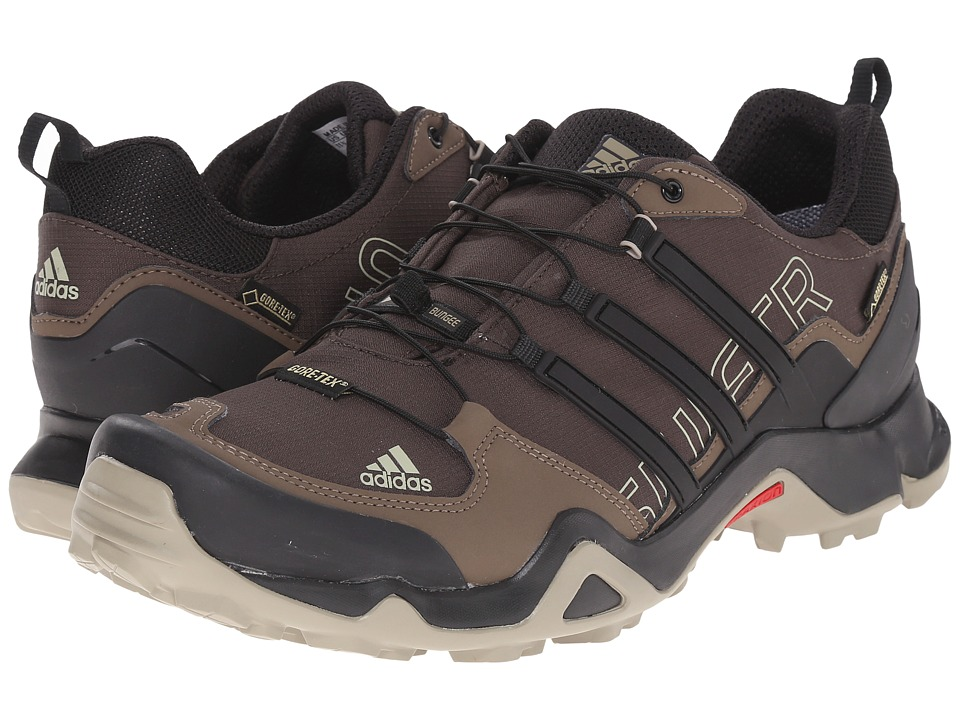adidas Outdoor - Terrex Swift R GTX (Umber/Black/Grey Blend) Men's Shoes