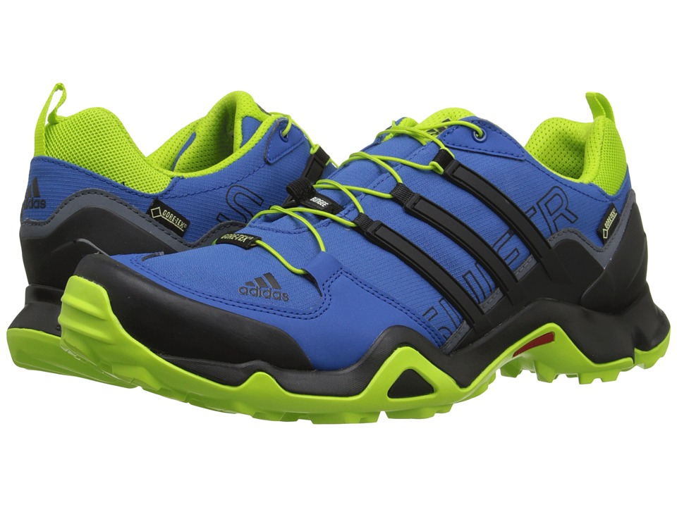adidas Outdoor - Terrex Swift R GTX (EQT Blue/Black/EQT Green) Men's Shoes