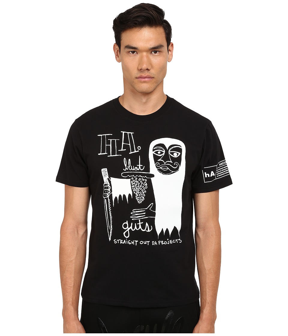 Haculla - Guts Tee (Black) Men's T Shirt