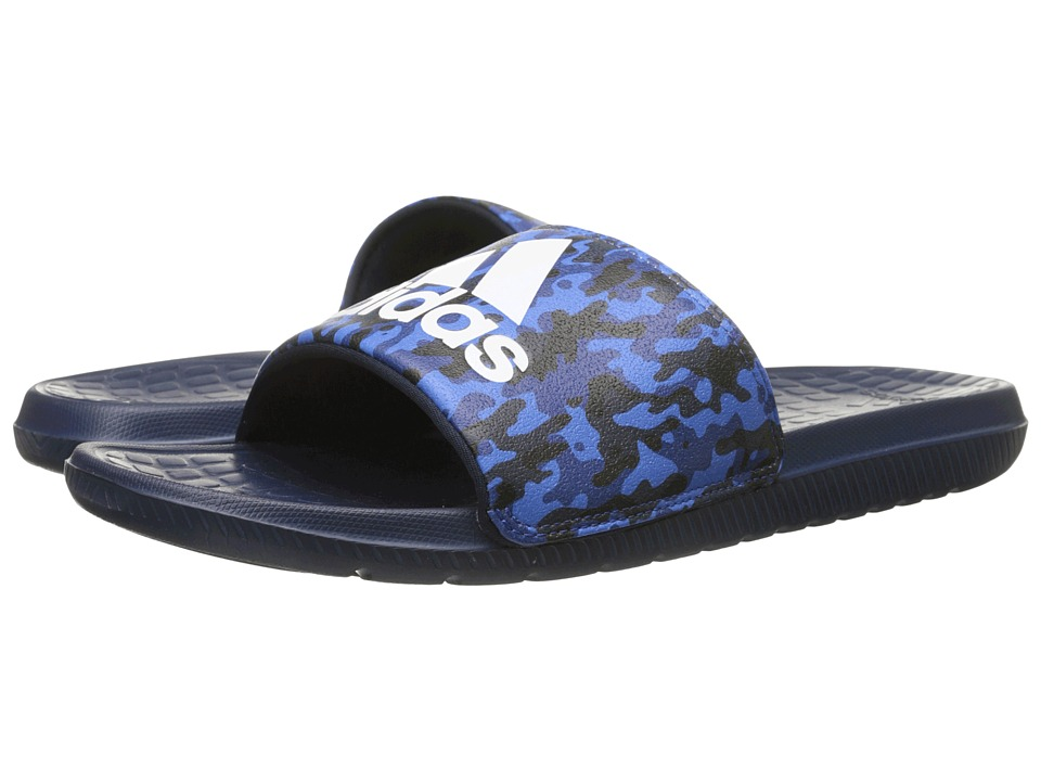 adidas - Voloomix Camo (Collegiate Navy/White/Bold Blue) Men's Sandals