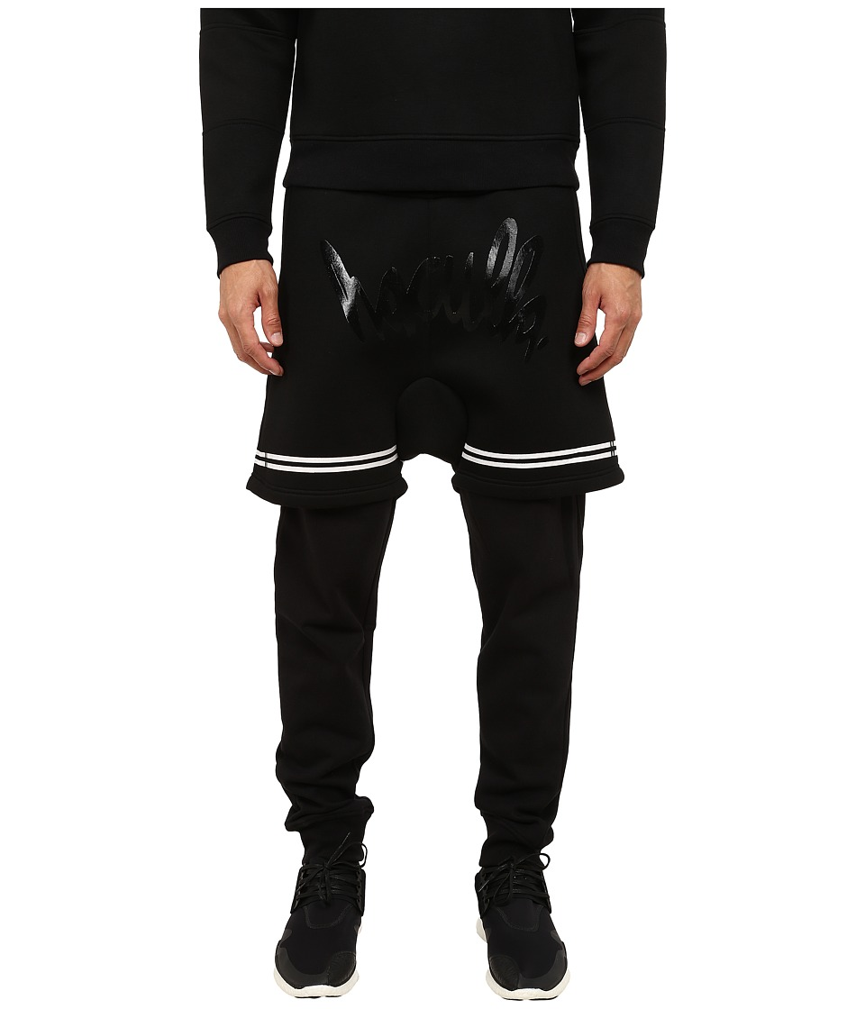Haculla - Skeleton Knit Pants (Black) Men