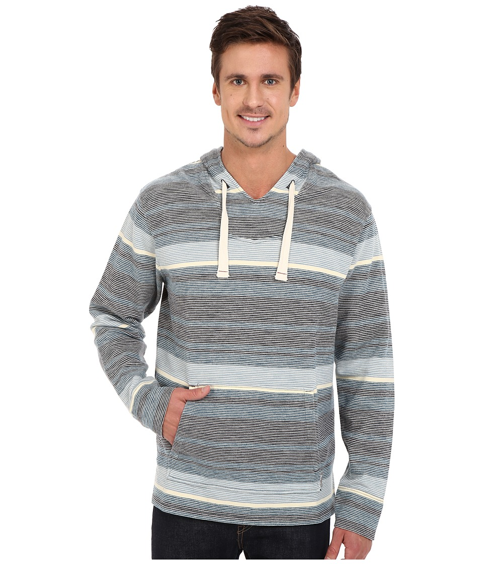 Woolrich - Baja Days Hoodie (Deep Indigo) Men's Long Sleeve Pullover