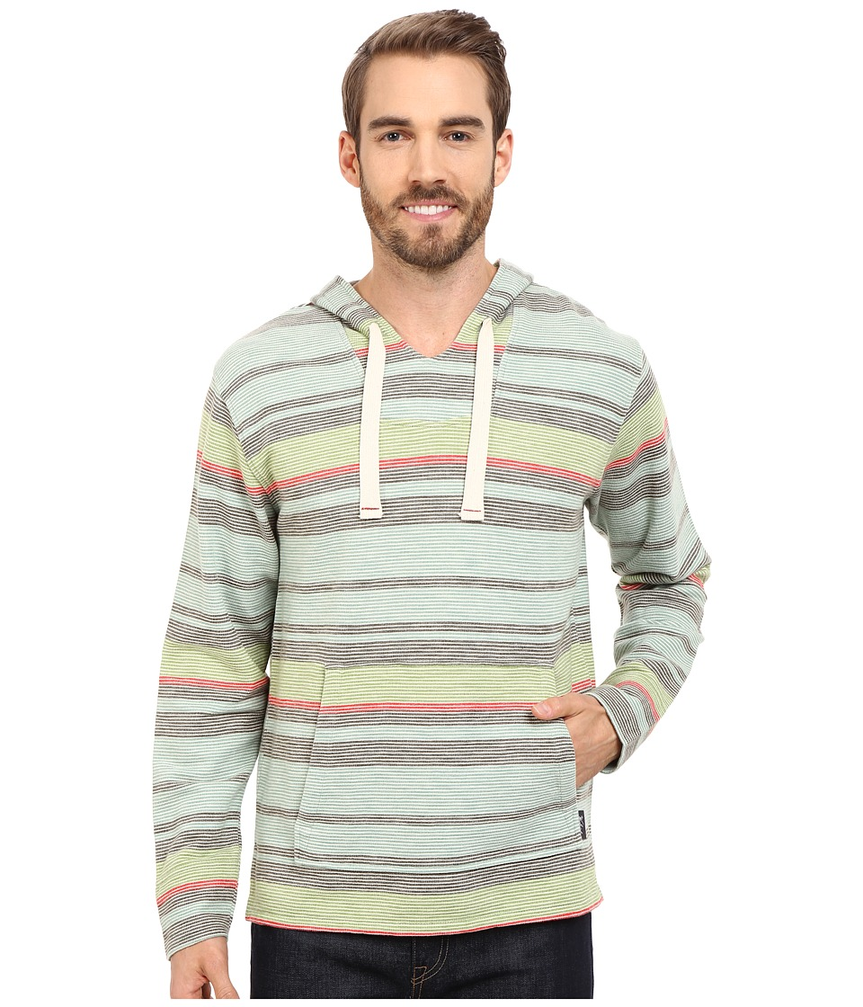Woolrich - Baja Days Hoodie (Faded Aqua) Men's Long Sleeve Pullover