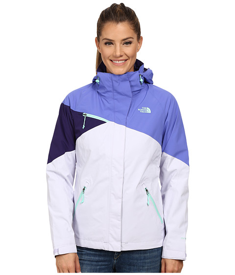 The North Face - Fleece Cinnabar Triclimate Jacket (Starry Purple/Soft Purple/Garnet Purple) Women's Coat