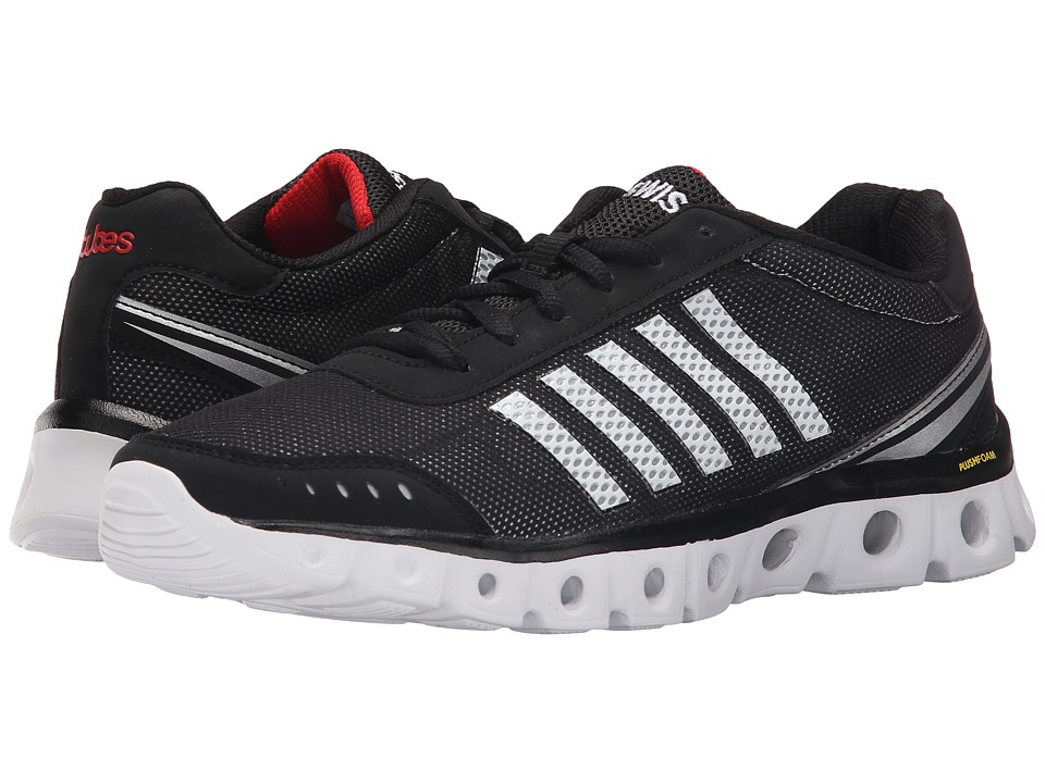 K-Swiss - X Lite Athletic CMF (Black/White/Fiery Red Mesh) Men's Cross Training Shoes