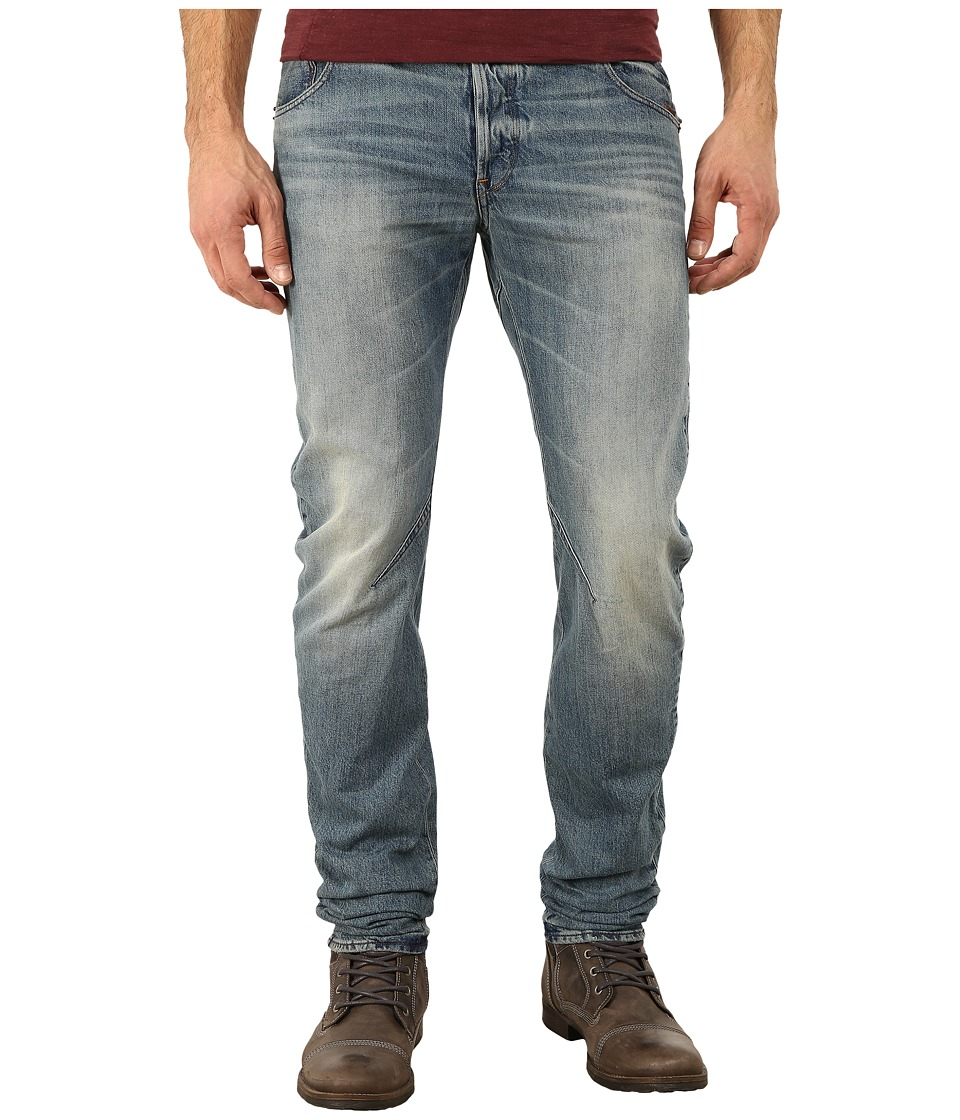 G-Star - Arc Zip 3D Slim Fit Jeans in Zalton Denim Medium Aged (Zalton Denim Medium Aged) Men's Jeans