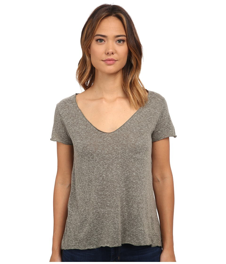 Obey - Dylan Tee (Heather Army) Women's T Shirt