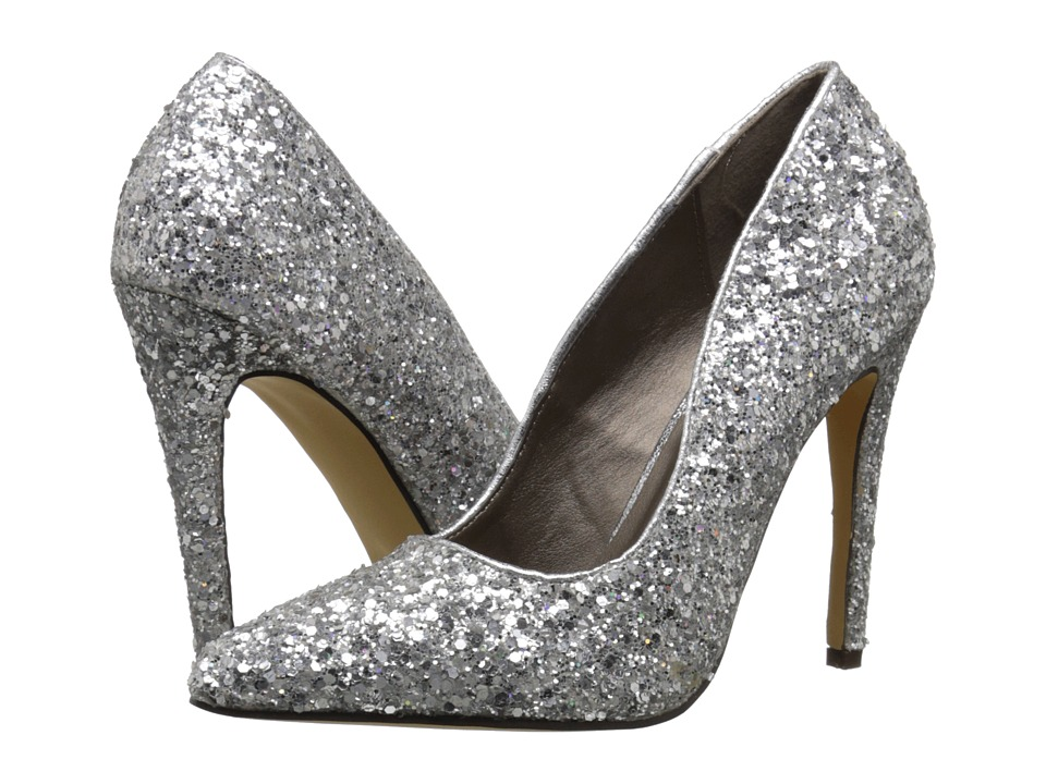Michael Antonio - Lamiss-Glitter (Silver) High Heels