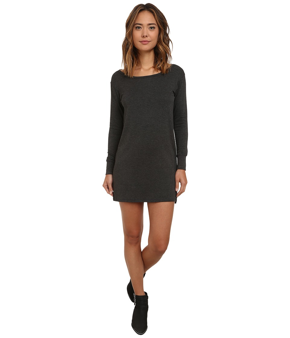 Obey - Cresent Moon Dress (Heather Charcoal) Women