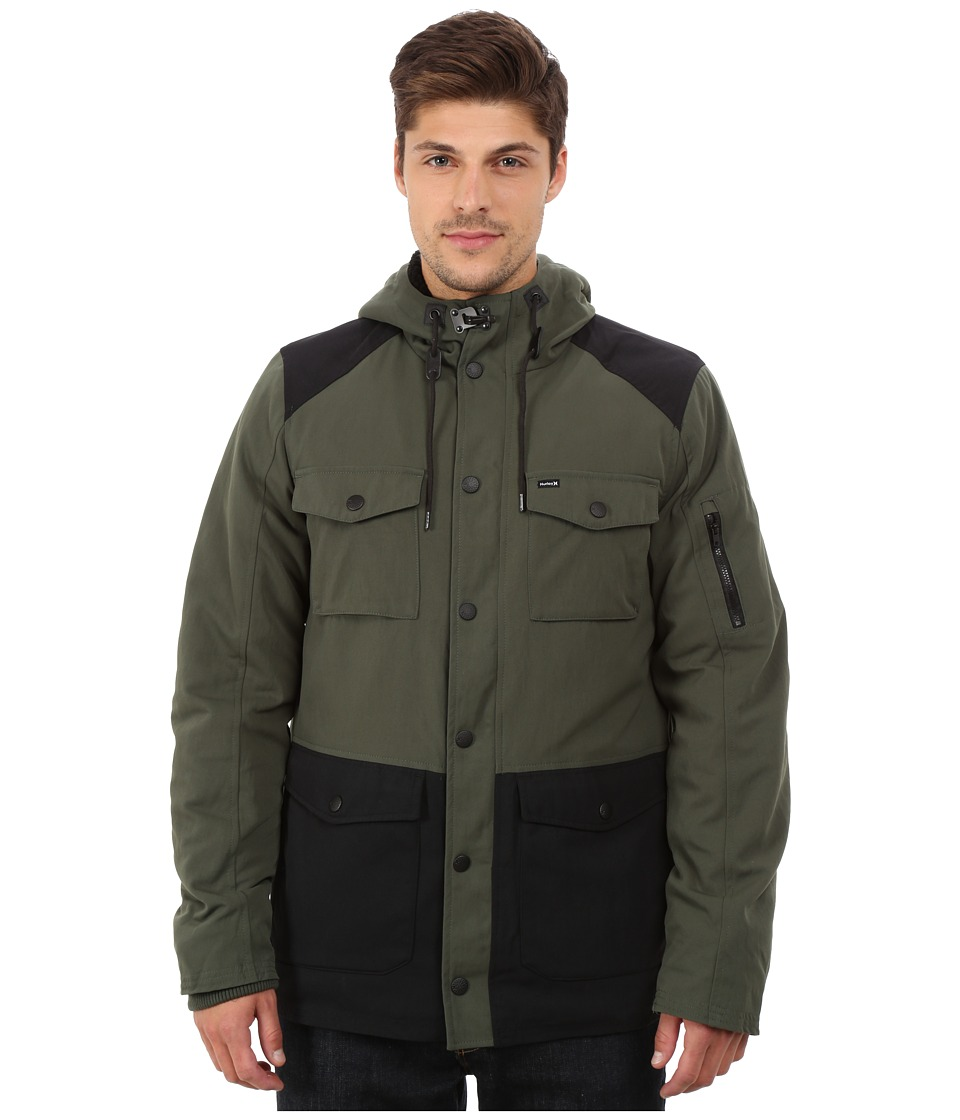 Hurley - Occupy Parka (Carbon Green) Men