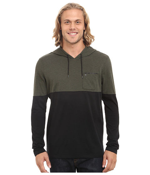 Hurley - Dri-Fit Adams Hoodie (Dark Army Green) Men's Sweatshirt