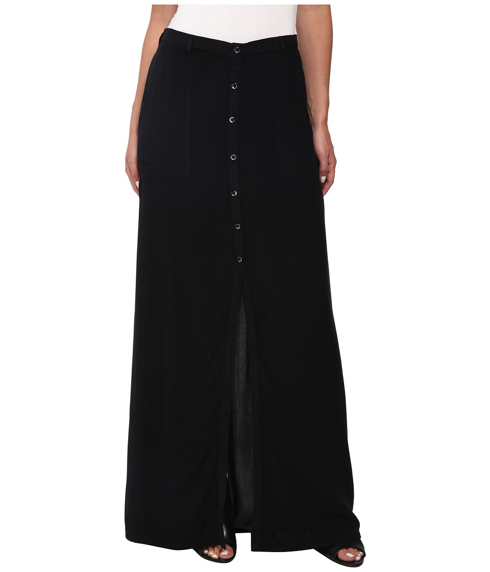 Obey - Nevine Maxi Skirt (Black) Women's Skirt