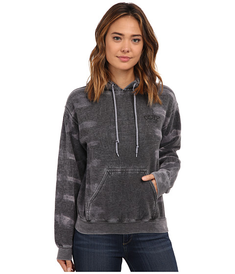 Obey - Original Sin Pullover (Black Tie-Dye) Women