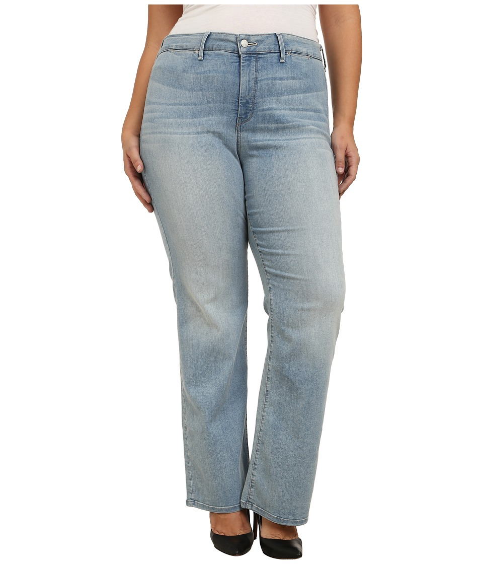 NYDJ Plus Size - Plus Size Isabella Trousers in Manhattan Beach (Manhattan Beach) Women's Jeans