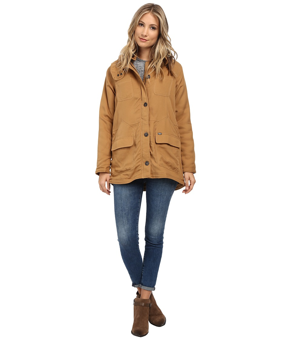Obey - Fairfield Jacket (Bone Brown) Women's Coat