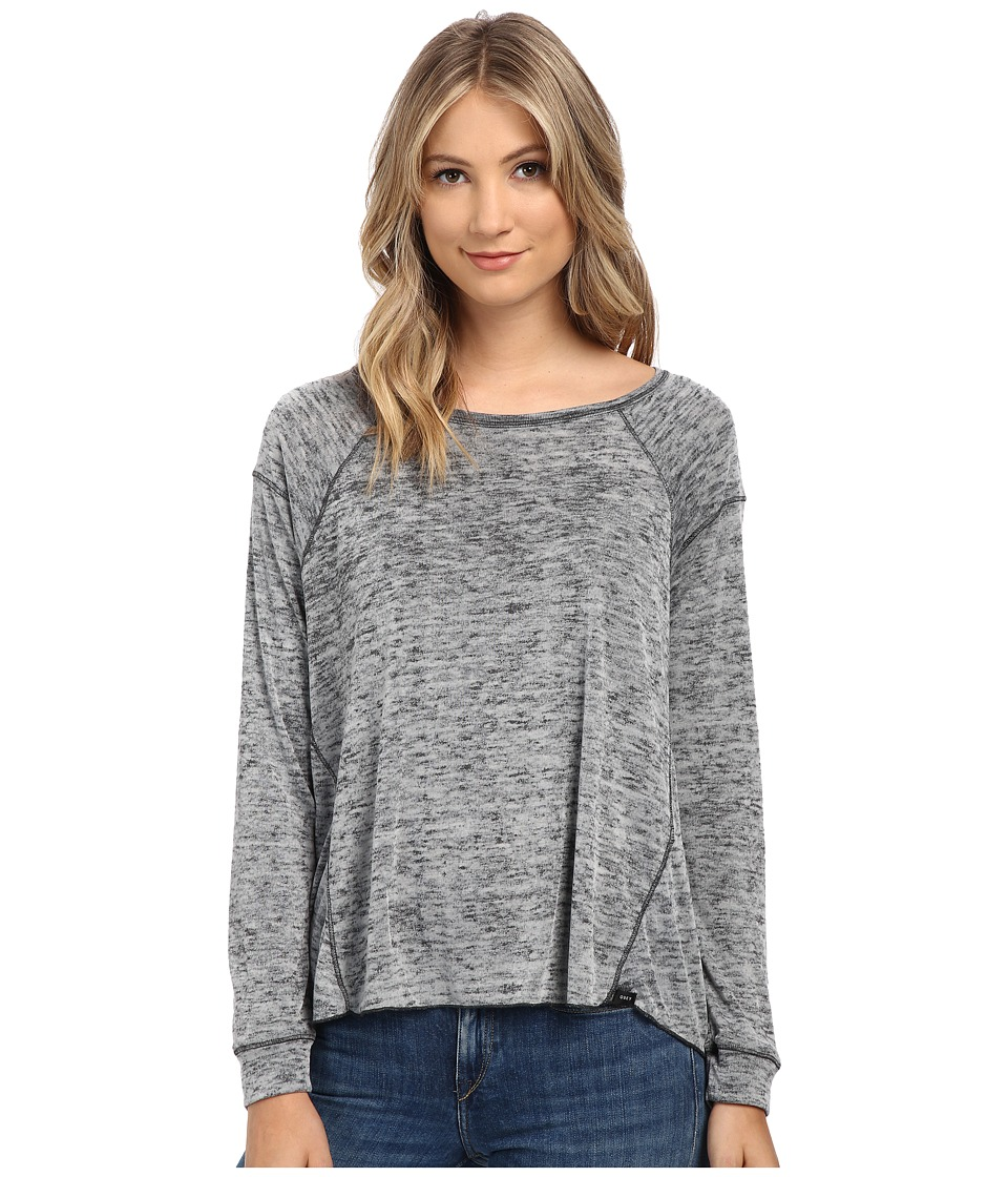 Obey - Teresa Long Sleeve (Charcoal) Women's Long Sleeve Pullover