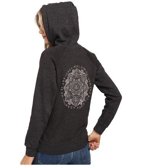 Obey - Force For Change Pullover (Heather Charcoal) Women