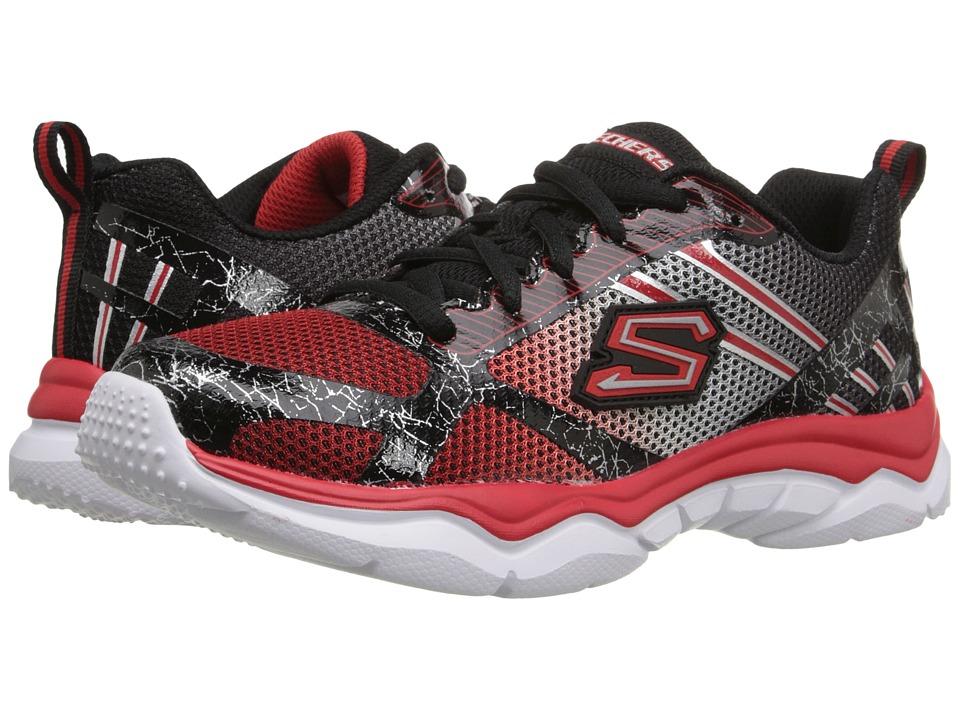SKECHERS KIDS - Neutron (Little Kid/Big Kid) (Black/Red) Boys Shoes