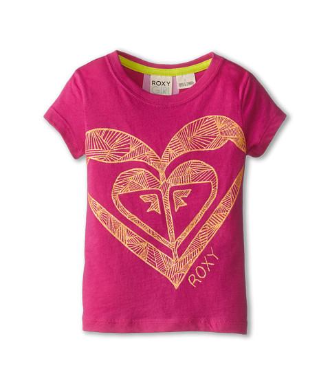Roxy Kids - All Heart Tee (Toddler/Little Kids) (Rose Violet) Girl