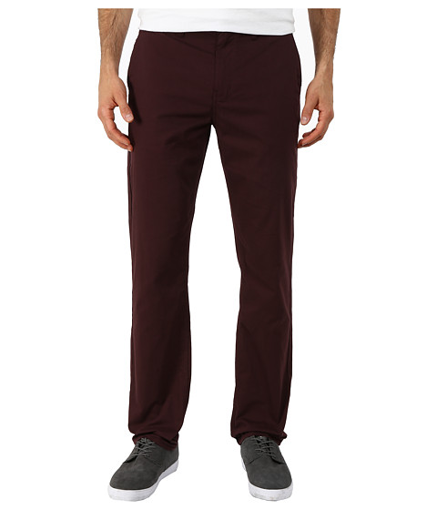 Hurley - Dri-Fit Chino Trouser Pants (Mahogany) Men
