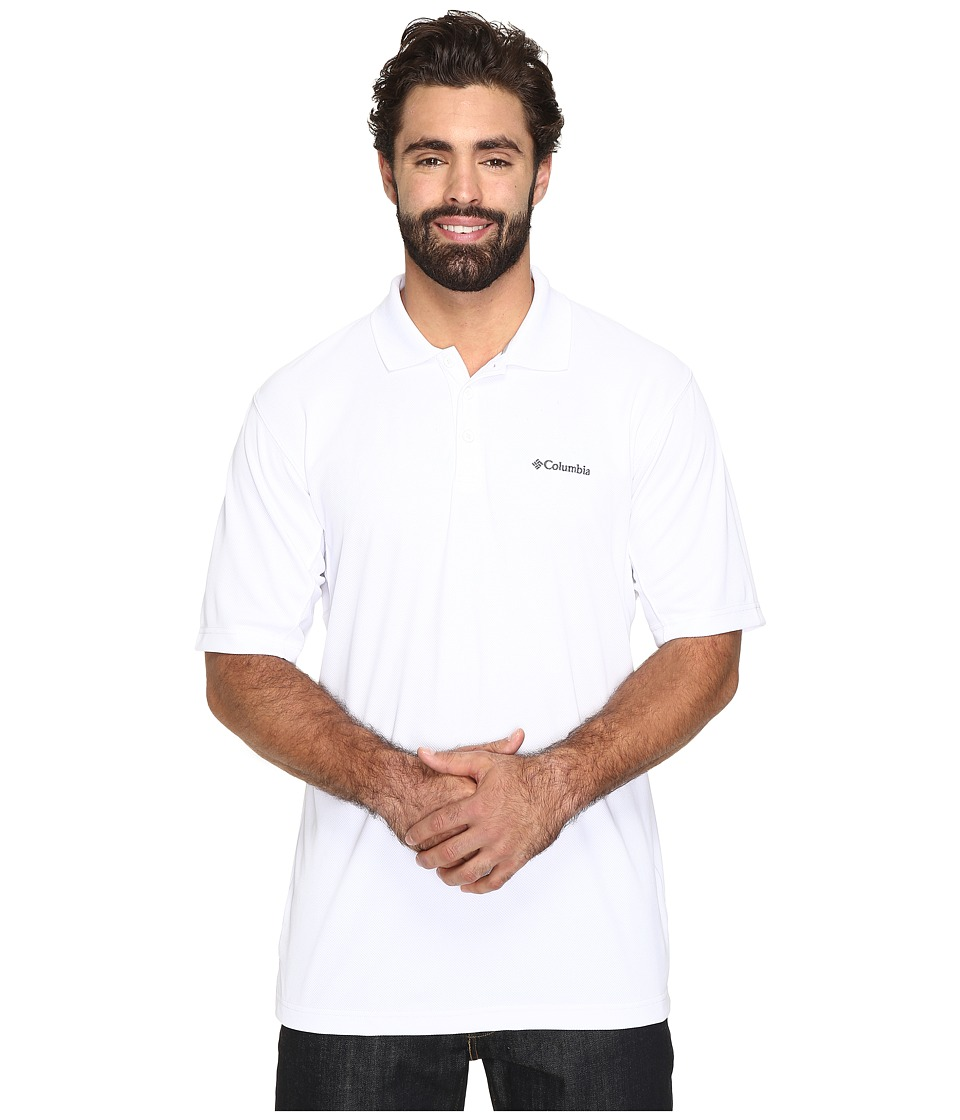 Columbia - Big Tall New Utilizer Polo (White) Men's Short Sleeve Pullover