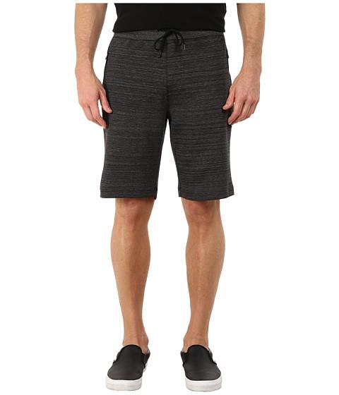 Hurley - Phantom Session Fleece Shorts (Black Heather) Men's Shorts