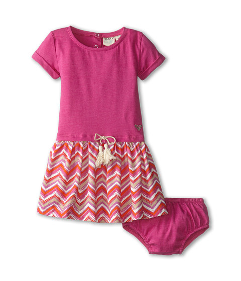 Roxy Kids - The Ziggy Dress (Infant) (Rose Violet) Girl