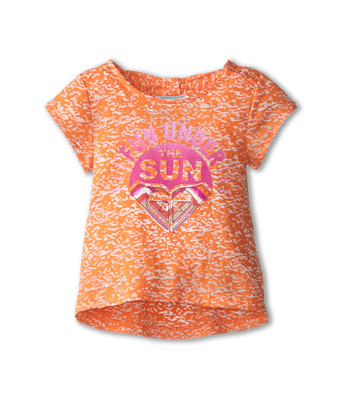 Roxy Kids - Fun Sun Tee (Infant) (Vermillion) Girl's T Shirt