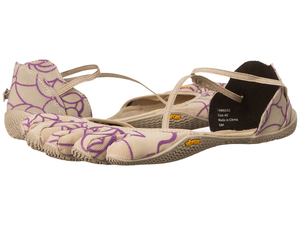 Vibram FiveFingers - Vi-S (Beige/Royal Purple) Women's Shoes
