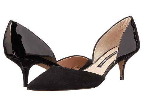 French Connection - Effie (Black/Black) Women's Shoes