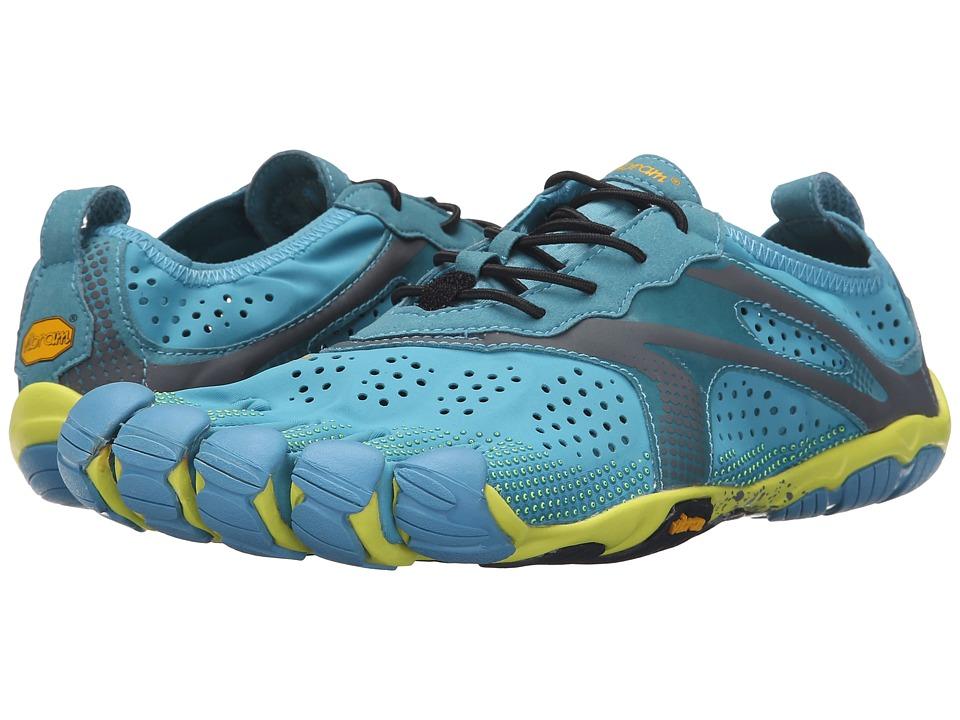 Vibram FiveFingers - V - Run (Blue/Yellow) Men's Shoes