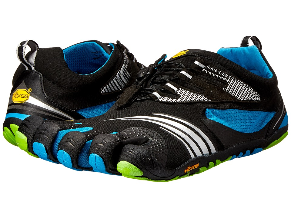 Vibram FiveFingers - KMD Sport LS (Black/Blue/Green) Men's Shoes