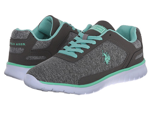 U.S. POLO ASSN. - Brandy (Dark Grey Jersey/Mint) Women's Shoes