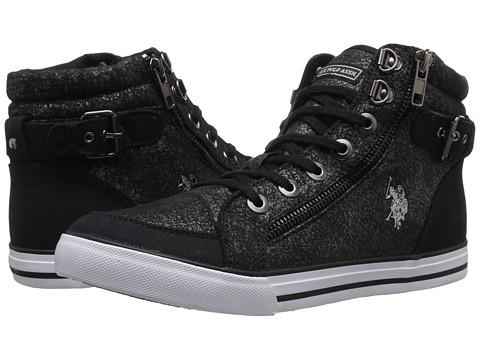 U.S. POLO ASSN. - Cady (Black) Women's Shoes