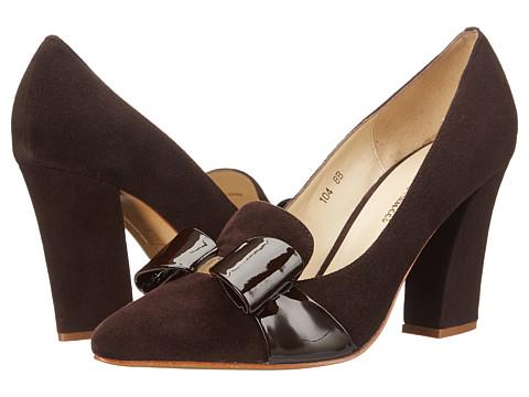 Sesto Meucci - 104 (Tmoro Suede/Tmoro Patent) Women's Shoes