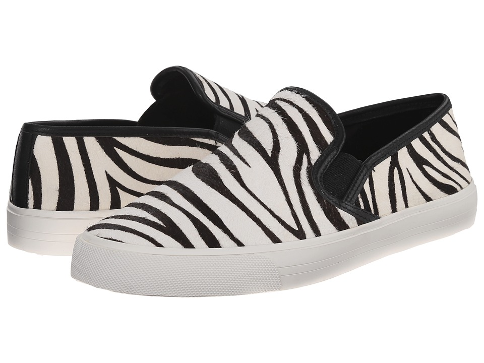 Vaneli - Boden (Black/White Zebel Haircalf/Black Nappa) Women