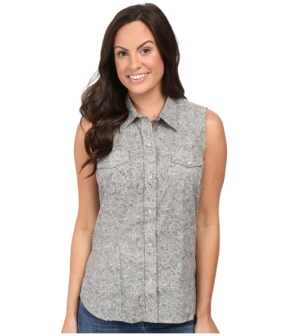 Roper - 0330 Floral Print (Grey) Women's Clothing